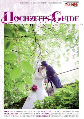 Hochzeits-Guide Neue Szene Augsburg 2013