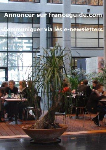 Annoncer sur franceguide.com