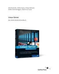Linux-Server (PDF) - Galileo Computing