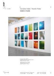 Caroline Hake / Kerstin Flake - Galerie b2