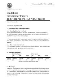 Guidelines for Seminar Papers and Final Papers - Friedrich-Schiller ...