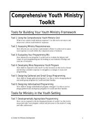 Comprehensive Youth Ministry Toolkit - Flocknote