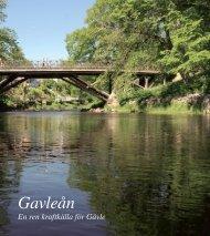 Broschyr: Gavleån - Gävle kommun