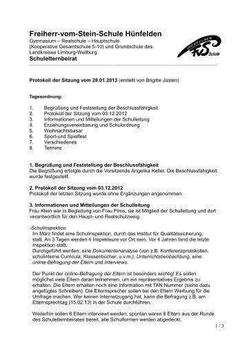 Freiherr-vom-Stein-Schule Hünfelden