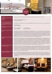 FACts & Figures - Fleming's Hotels und Restaurants