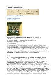 Lindenfels (Adelsgeschlecht) - Gästebücher von Schloss Neubeuern