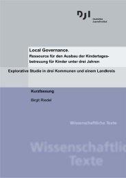 Kurzfassung - Deutsches Jugendinstitut e.V.