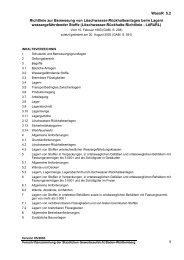 Richtlinie zur Bemessung von Löschwasser - Gewerbeaufsicht ...