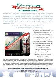 Promenons nous sur les Grands Boulevards - Fragonard