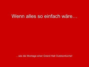 Grandhall allgemeine Grill Aufbauanleitung - Gardelino