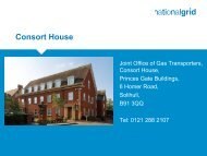 Directions to Consort House - Joint Office of Gas Transporters