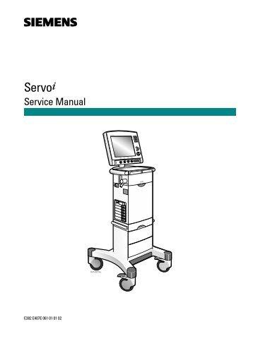 Siemens Servo-i Ventilator User Manual