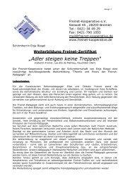 Informationen - Freinet-Kooperative eV