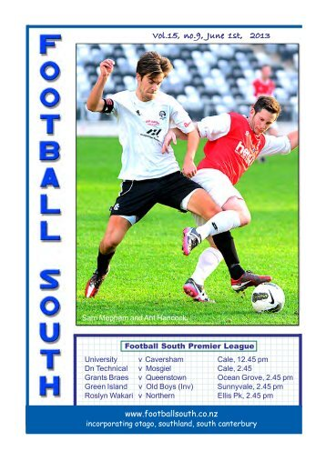 1st to 3rd June 2013 - Football South