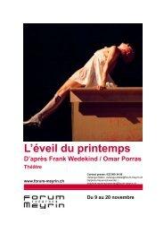 L'Eveil du printemps.pdf - Forum-Meyrin