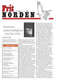 Nordens nødvendighed - Frit Norden