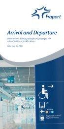 Arrival and Departure - Frankfurt Airport
