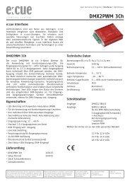 DMX2PWM 3ch - Barthelme Gmbh & Co. KG