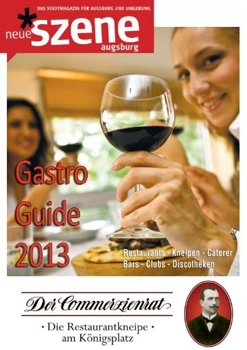 Gastro-Guide Neue Szene Augsburg 2013