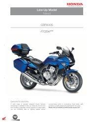 Line-Up Model CBF600S - Honda