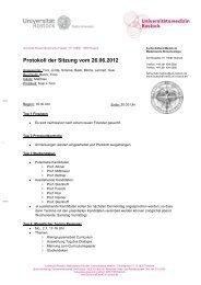 Protokoll der Sitzung vom 26.06.2012 - Fachschaftrat Medizin ...