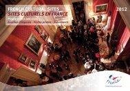 french cultural sites sites culturels en france 2012 - Maison de la ...