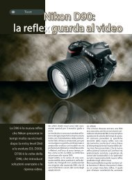 Nikon D90: la reflex guarda al video - Fotografia.it