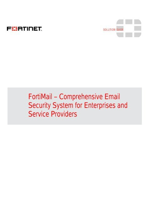 FORTINET – Fort