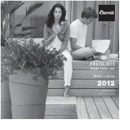 Eternit: Preisliste 'GARTEN' 2012 - GARTENSHOP.at