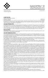 gadopril D prosp 12/05 - Gador SA