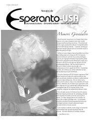 Novaĵoj de - La Esperanta Gazetejo