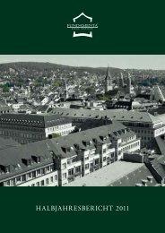 Halbjahresbericht 2011 Fundamenta Real Estate AG