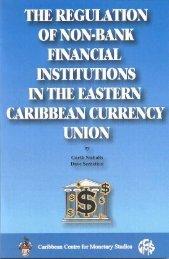 Regulation - Caribbean Centre for Money and Finance