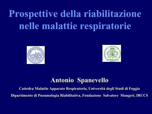 Prospettive della riabilitazione nelle malattie respiratorie