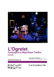 L'Ogrelet - Forum-Meyrin