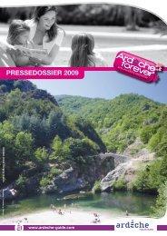 PRESSEDOSSIER 2009 PRESSE