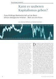 Kann es sauberen Kapitalismus geben? - Forschung Frankfurt