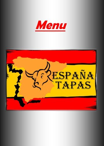 ESPANA TAPAS Speisekarte