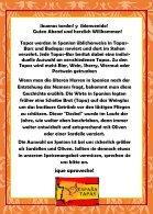 ESPANA TAPAS Speisekarte - Seite 2