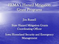 FEMA's Hazard Mitigation Grant Programs - The Association of State ...