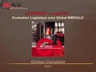 Présentation du référentiel Global EVALOG (MMOG/LE) - GALIA