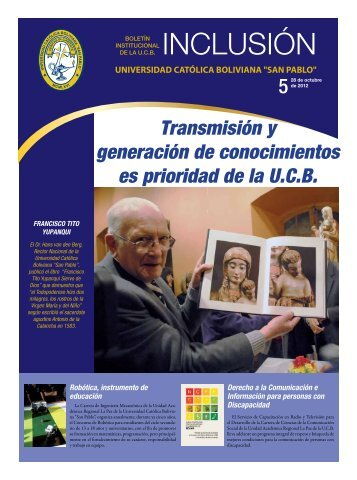 Versión PDF - La Paz - Universidad Católica Boliviana