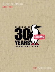 Chums - Gary Plante Enterprises Ltd.