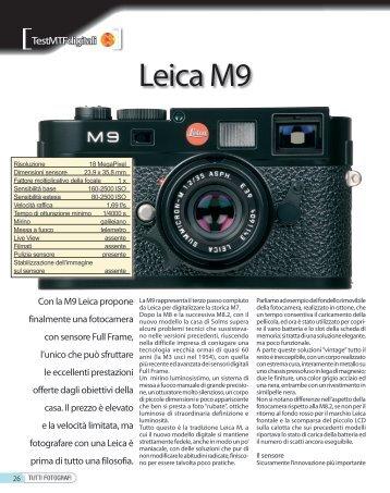 Leica M9 - Fotografia.it