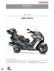New Model SW-T400 - Honda