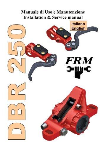 Freni Disco DBR250 Bilingue - FRM