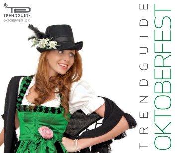 Trendguide Oktoberfest 2012