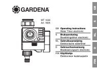 OM, Gardena, Water Timer electronic, Art 01825-28, 2007-04