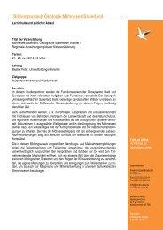 Programm Moehnesee Oekologie 2010 - Forum Unna