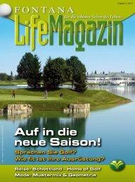 Ausgabe 01/2013 - Golfclub Fontana